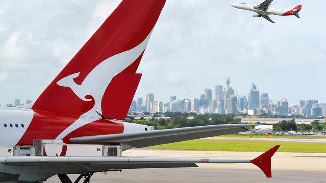 The man took two Qantas flights: QF44 from Bali to Sydney and QF415 to Melbourne. Picture: iStock