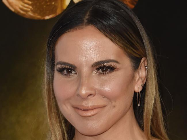 "Broker? Mexican drug lord Joaquin ""El Chapo"" Guzman fawned over the ""beautiful"" actor Kate del Castillo, while she confessed her ""dream"" of meeting him in leaked text messages. Picture: Supplied."