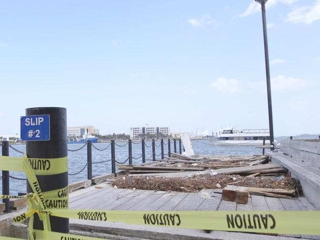 Miami is starting to feel the effect of rising sea levels. Picture: Dateline