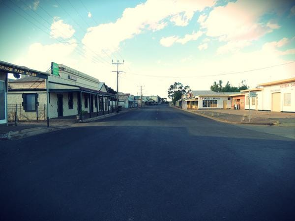 Once a bustling railway town of 2000, Twrowie is now one of Australia's 'ghost towns' with a population of less than 200
