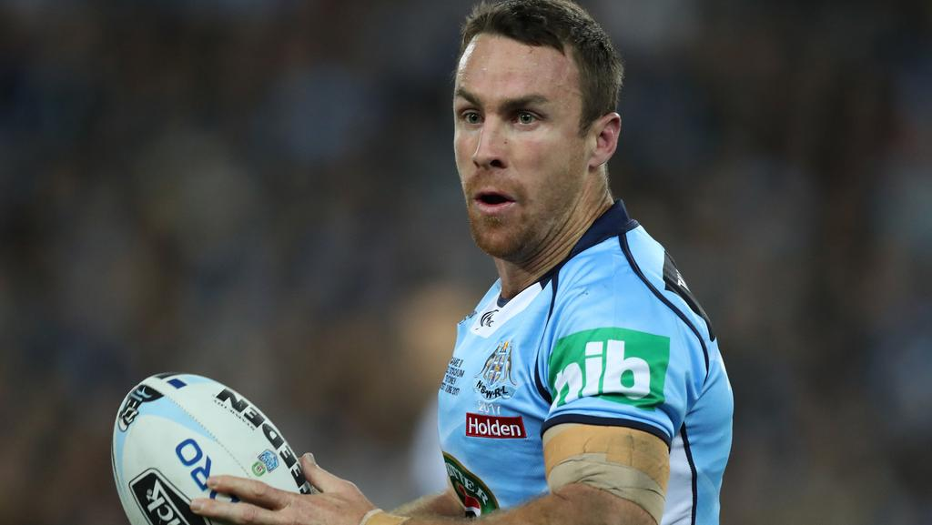 NSW's James Maloney has been named at five-eighth in the Kangaroos Origin Merit Team.