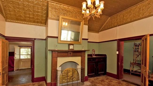 The front room was once the main bar.