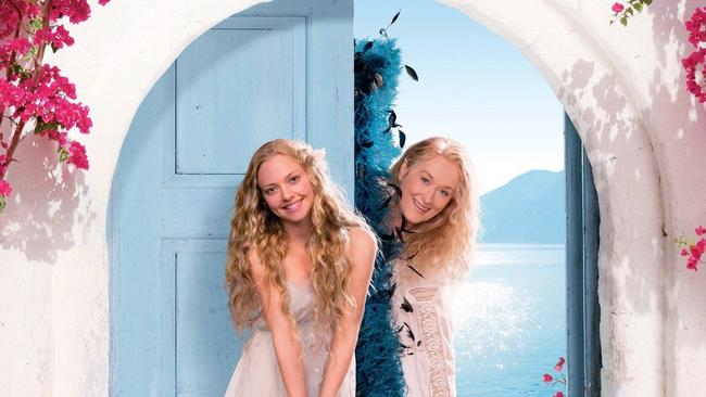 Amanda Seyfried and Meryl Streep played mother and daughter in the movie.