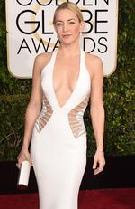 Actress Kate Hudson attends the 72nd Annual Golden Globe Awards at The Beverly Hilton Hotel on January 11, 2015 in Beverly Hills, California. Picture: Jason Merritt/Getty Images