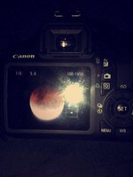 Reader Chaise Olah is proud of this shot of the blood moon. Pretty sure Canon would be happy with it, too.