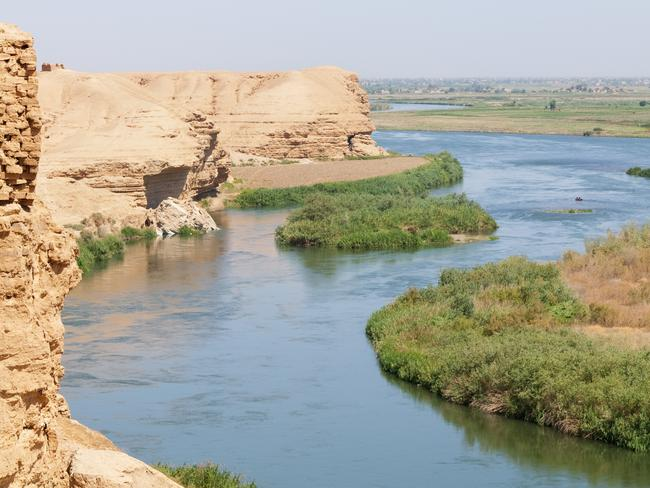 The Euphrates River is regarded as an unofficial dividing line between Russia and US air forces. Pictur: iStock.