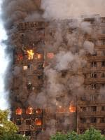 group rights Must credit Jamie Lorriman/The Sun Police were called at 01:16hrs on Wednesday, 14 June to reports of a large fire at a block of flats in the Lancaster West Estate, W11. The fire at Grenfell Tower on the Lancaster West Estate was reported at 01:16 BST and about 200 firefighters are tackling the blaze. 14/06/2017 Jamie Lorriman mail@jamielorriman.co.uk www.jamielorriman.co.uk +44 7718 900288