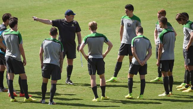 Socceroos coach Ange Postecoglou will drop one final player on Wednesday.