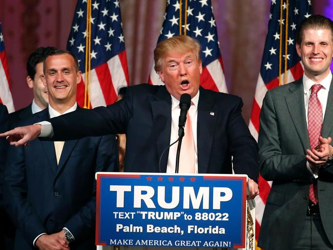 Republican presidential candidate Donald Trump after the Florida state primary.