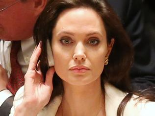Angelina Jolie Attends United Nations Security Council Meetings On Middle East And Syria