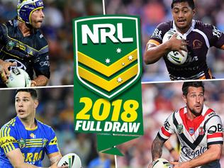 The 2018 NRL fixture is finally out.