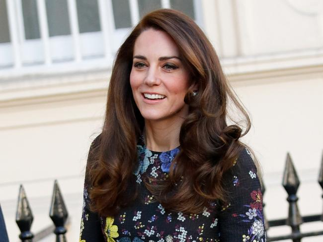 Catherine, Duchess of Cambridge with a fabulous, glossy blowout. Picture: Max Mumby/Indigo/Getty Images
