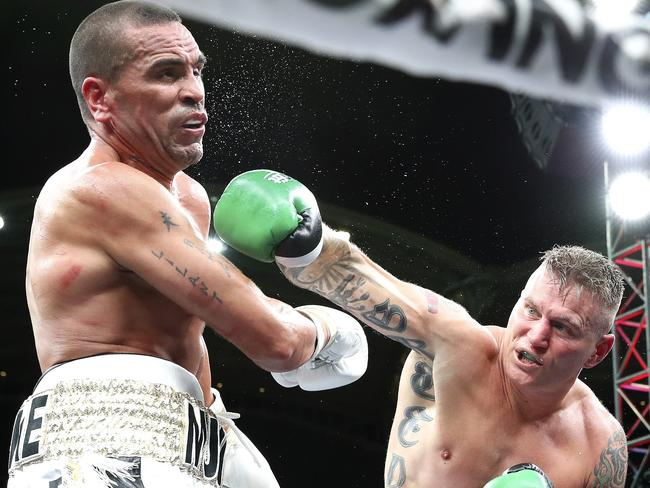 Anthony Mundine is deliberation an appeal. Picture Sarah Reed