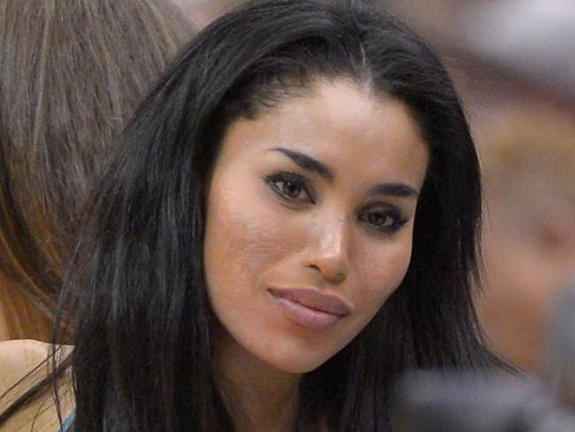 V Stiviano claims the Sterlings called her a thief and accused her of stealing money from Donald. Picture: Mark J. Terrill