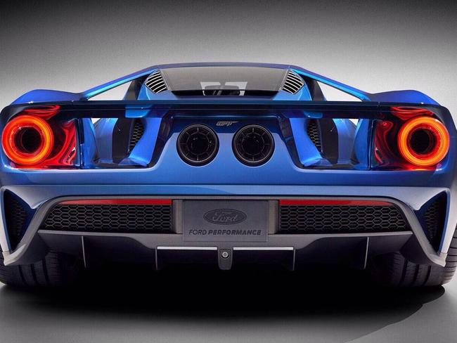 Secret ... The new GT supercar was so classified that only the top level of Ford management in Detroit knew about it. Picture: Supplied