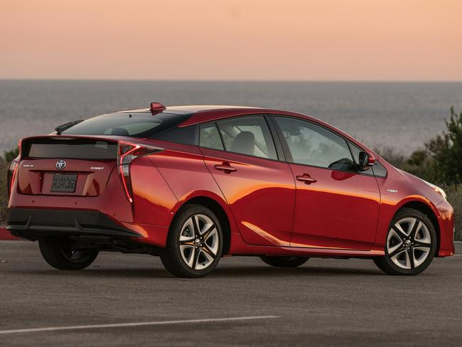 The 2016 Toyota Prius has a jaw-dropping fuel economy of 3.4L/100km. Picture: Supplied