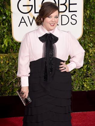 Rocking it ... actress Melissa McCarthy. Picture: Getty Images