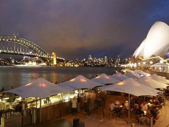 Enjoy New Year's Eve at the Opera Bar. Picture: Supplied