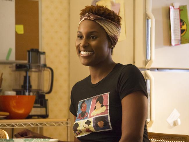 Issa Rae from Insecure — a buzzed-about performance snubbed at the Emmys. Picture: AP