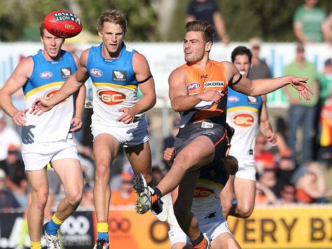 GWS' Stephen Coniglio believes the Suns-Giants rivalry will gather momentum as the years progress.