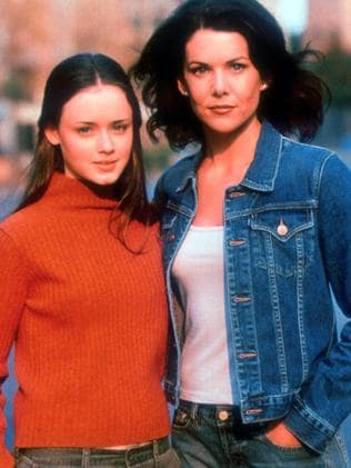 Mother and daughter ... Alexis Bleidel with Lauren Graham will return as Rory and Lorelai.