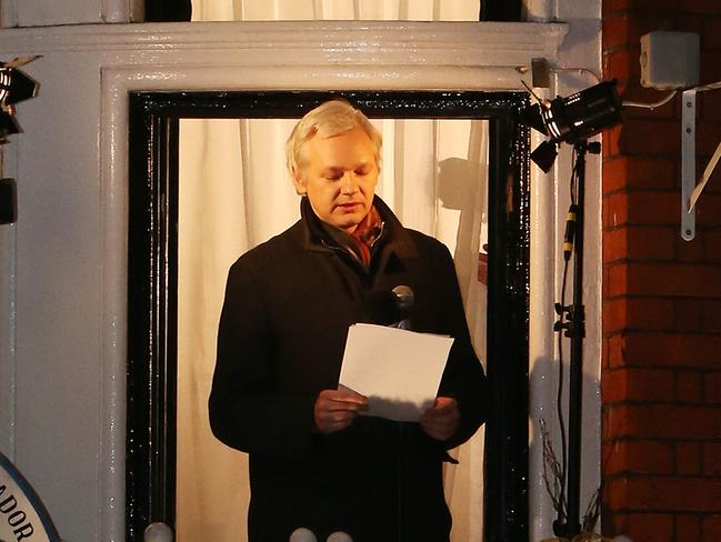 Massive release ... Julian Assange has promised to leak documents on 50 countries including the US and European nations. Picture: Peter Macdiarmid