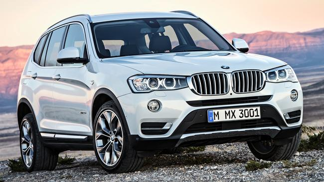 A new BMW X3 is on the horizon so look for a run-out bargain. Pic: Supplied.