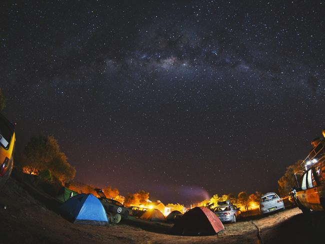 A starry night in the outback. Picture: Jarrad Seng