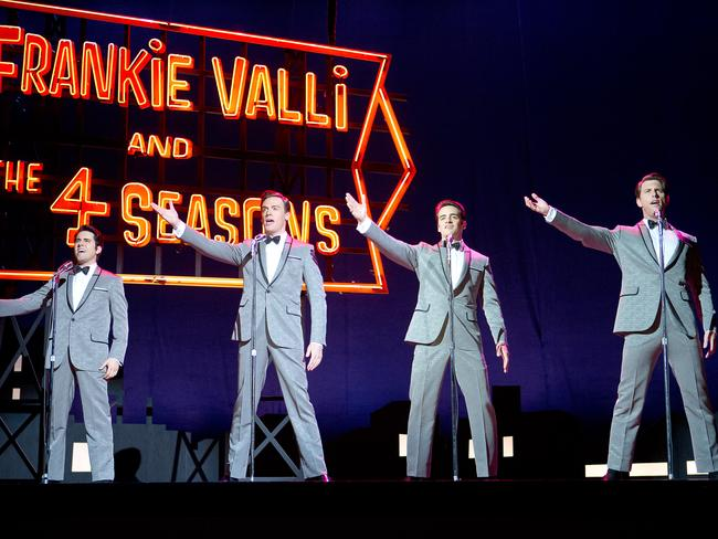 More than 17 million people have seen the Broadway musical 'Jersey Boys' and it's little wonder. Picture: Warner Bros/Village Roadshow