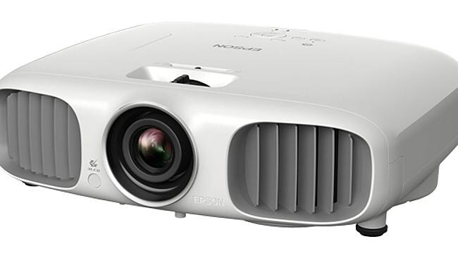 A projector with its super big screen size will have friends flocking. Source: supplied