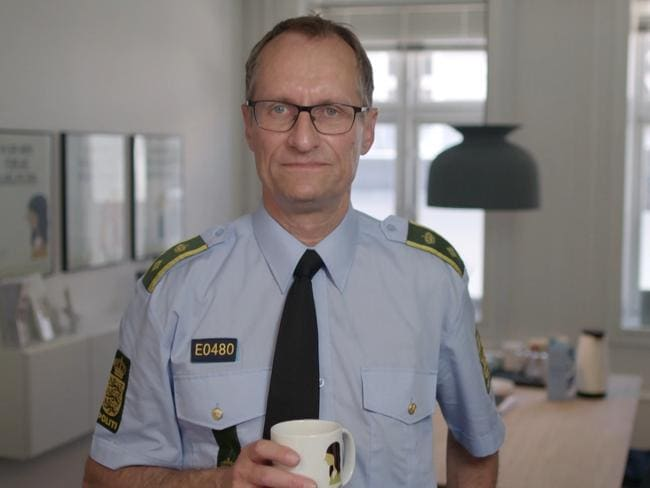 Danish policeman Allan Aarslev is an advocate of the program which aims to reintegrate disenfranchised you men into society. Picture: Dateline