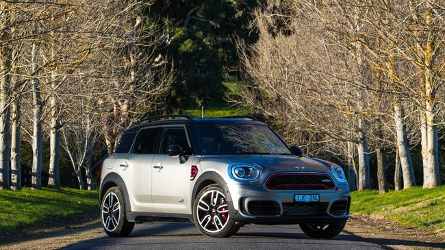 The Mini JCW Countryman has grown up and out. Photo: Supplied.