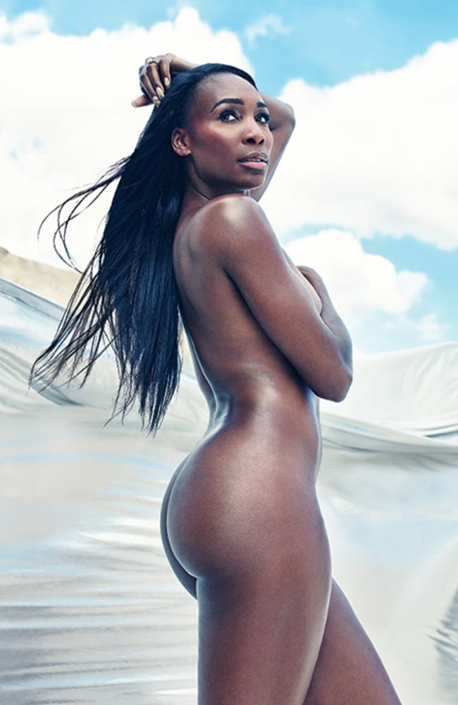 Venus Williams in her nude photoshoot. Picture: Williams and Hirakawa.
