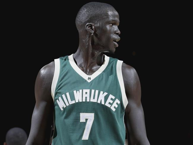 Thon Maker earned his first extended minutes for the Bucks.