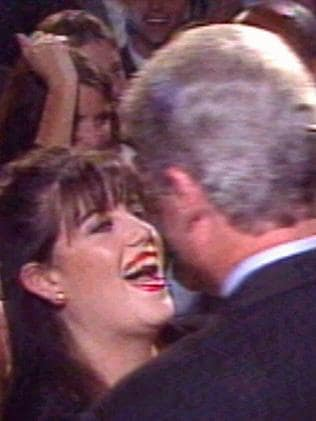 Bill Clinton was nearly impeached for the affair he had with former White House intern Monica Lewinsky. Picture: CNN