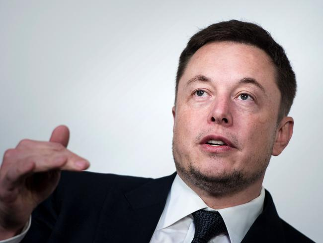 Elon Musk, CEO of SpaceX and Tesla has big plans for space travel. Picture: AFP