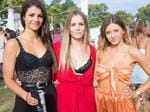 Alex Wrenn, Lauren Darbyshine, Hannah Carroll at the inaugural Corona SunSets Festival. Picture: Supplied