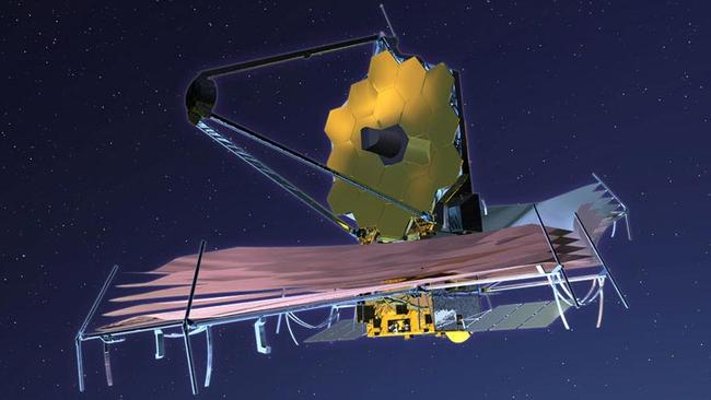 The next-gen telescope sniffing out life. Source: NASA