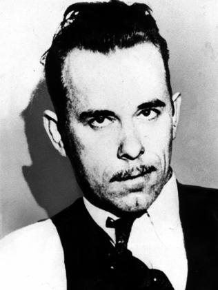 The real John Dillinger.