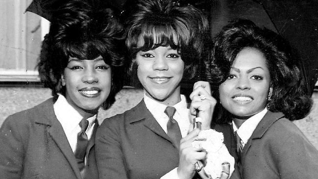 The Supremes, from left, Mary Wilson, Florence Ballard and Diana Ross, in 1967.