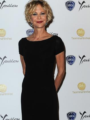 Meg Ryan attends the Taormina Filmfest in Italy, June 2013. Picture: Getty