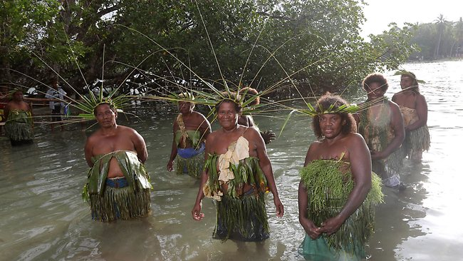Island paradise: Tuvanipupu is one of the jewels of the South Pacific