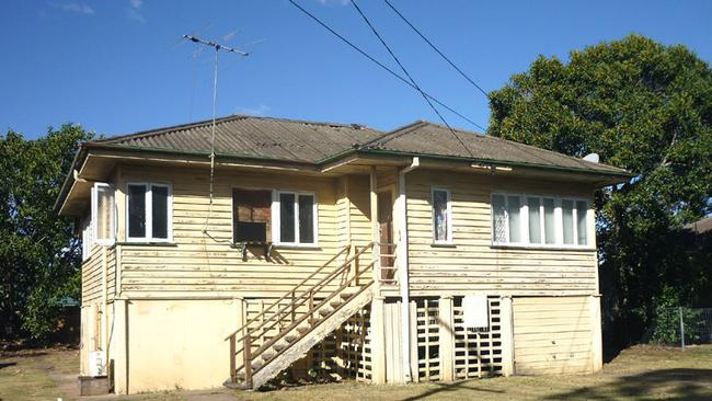 This three-bedroom house in Rocklea in Brisbane is on the market for $319,000. Pic: Realestate.com.au