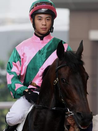 Derek Leung has already enjoyed success in Australia, scoring on the John O'Shea-trained Cabalistic at Hawkesbury last month.