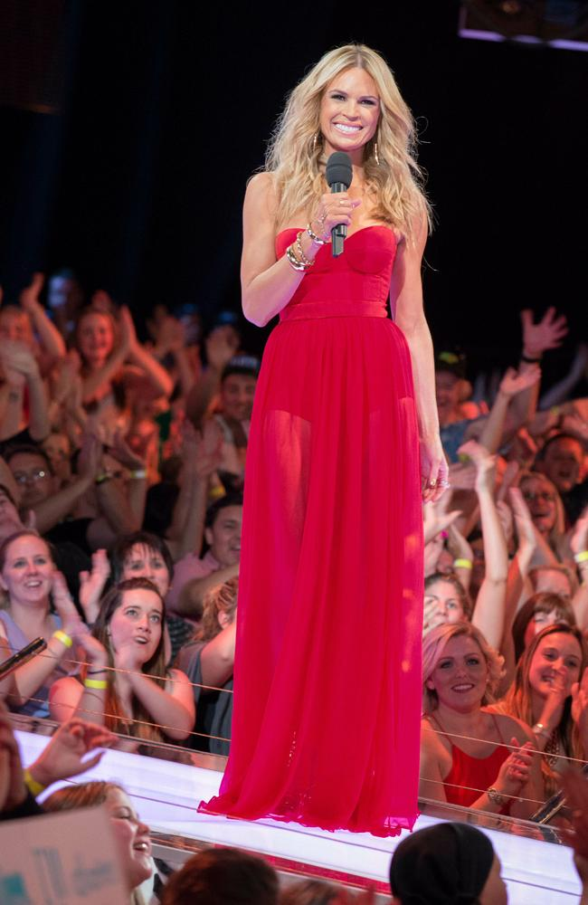 Back for more: Sonia Kryger pictured at the Big Brother Australia Live Finale in 2013.
