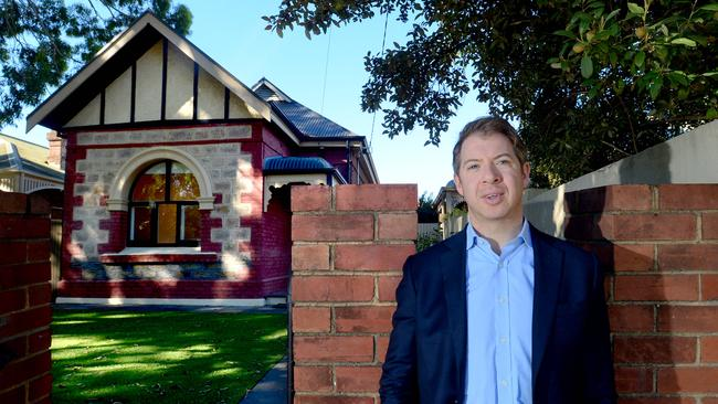 BrickX CEO Anthony Millet pictured at one of the fractional investment company's properties. Picture: Sam Wundke