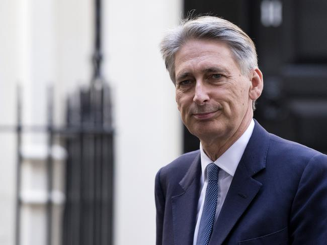 Threat ... British Foreign Secretary Philip Hammond has warned that IS must be stopped, or they will attack on British soil. Picture: Getty
