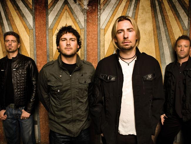 Nickelback fought back against a hater.