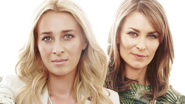 Returning ... Asher Keddie and Kat Stewart have signed for a sixth season of Offspring. Picture: Channel Ten