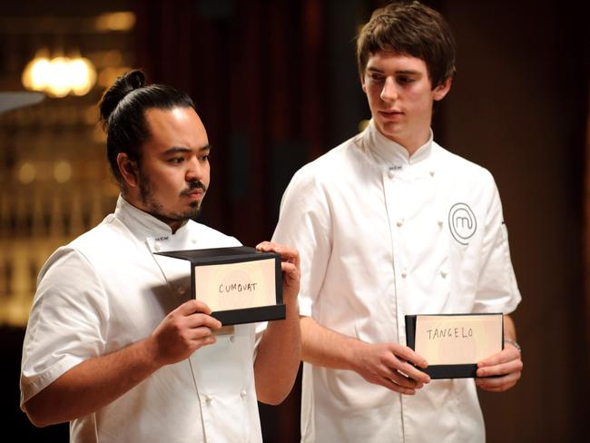 Contestants Adam Liaw and Callum Hann from 2010.